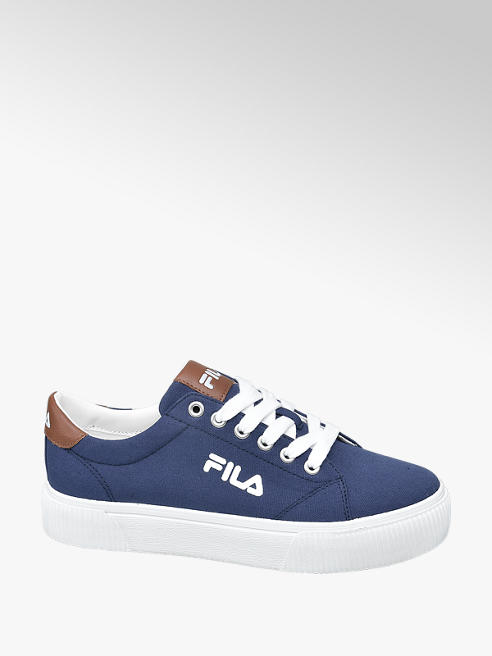 Fila Blauwe canvas sneaker