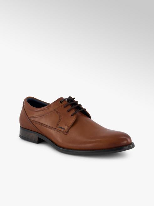 Varese Varese Kirk scarpa da business uomo cognac