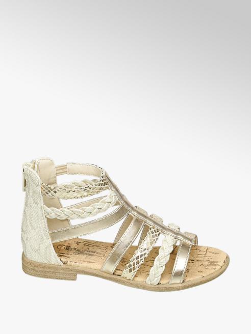 Cupcake Couture Lichtgouden sandaal