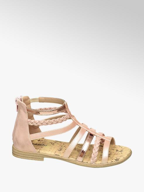 Graceland Roségouden sandaal
