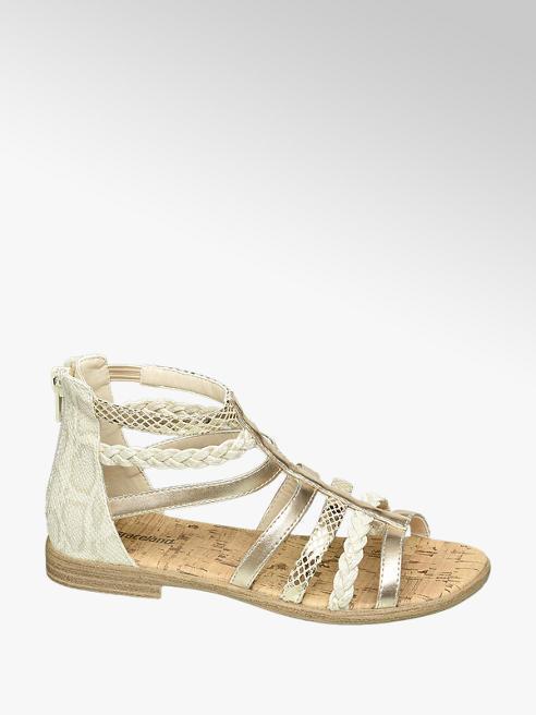 Graceland Lichtgouden sandaal