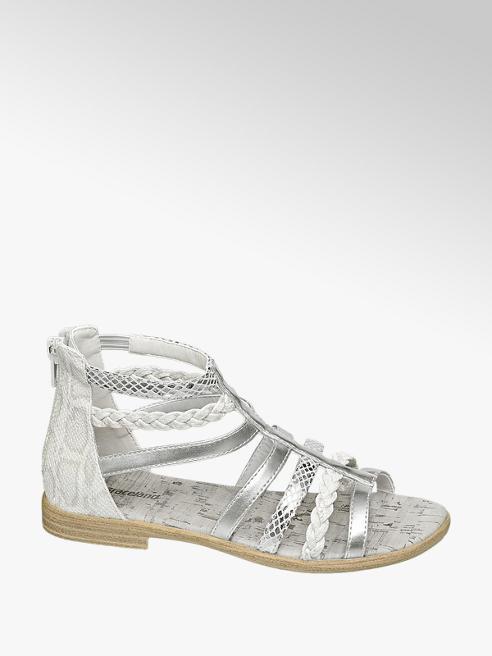 Graceland Zilveren sandaal