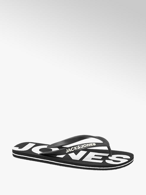 Jack & Jones Zwarte teenslipper