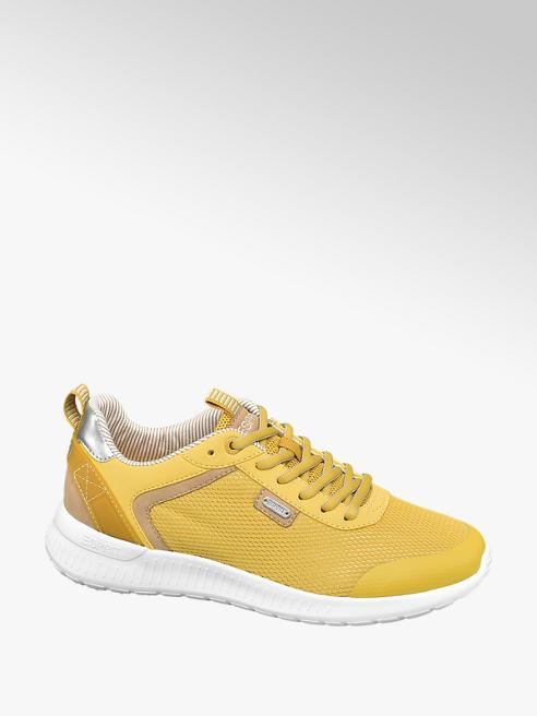 Esprit Gele sneaker metallic