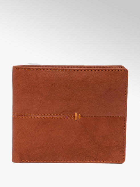 Borelli Tan Leather Wallet