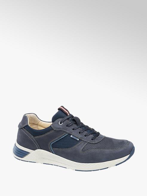 Gallus Blauwe leren sneaker