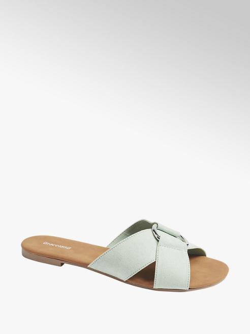 Graceland Mintgroene slipper