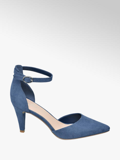 Graceland Blauwe pump