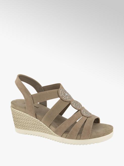 Graceland Taupe sandalette