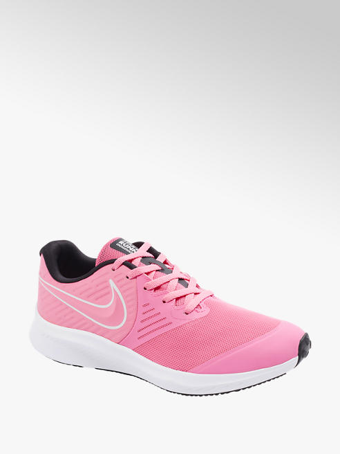 NIKE Teen Girls Nike Star Runner Pink Lace-up Trainers