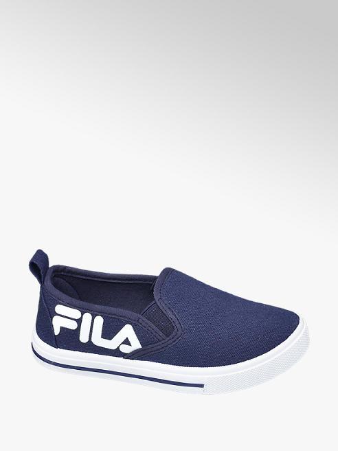 Fila Toddler Boys Fila Navy Canvas Slip-on Shoes