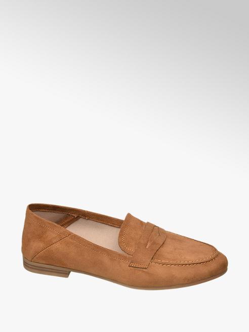 Graceland Bruine loafer