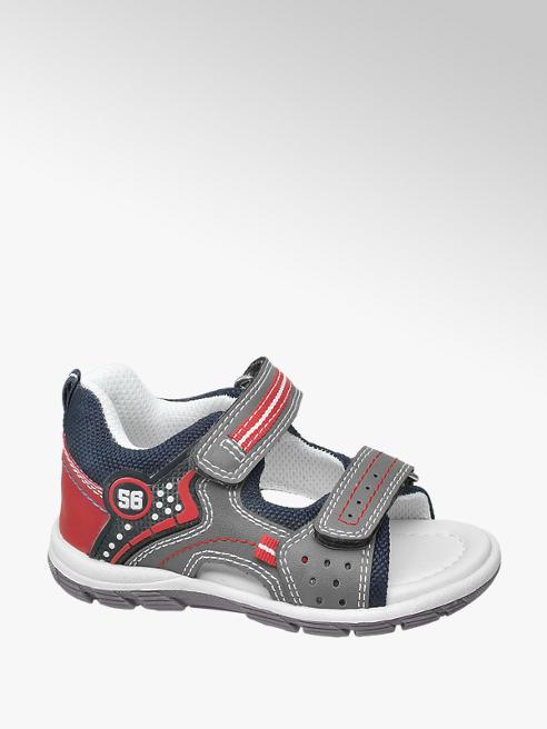 Bobbi-Shoes Grijze sandaal