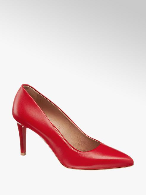 Wojas Дамски кожени обувки с ток Wojas