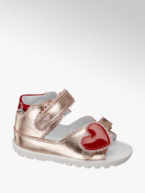 Bartek Детски кожени сандали с велкро