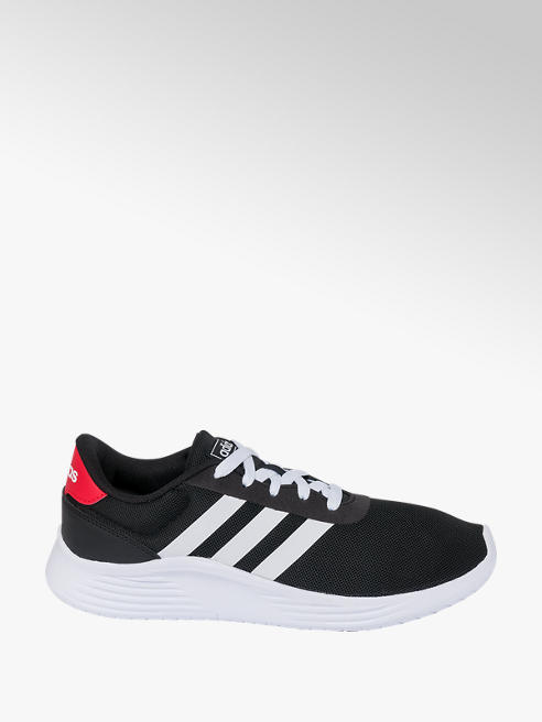 adidas Mens Adidas Lite Racer 2.0 Black Lace-up Trainers