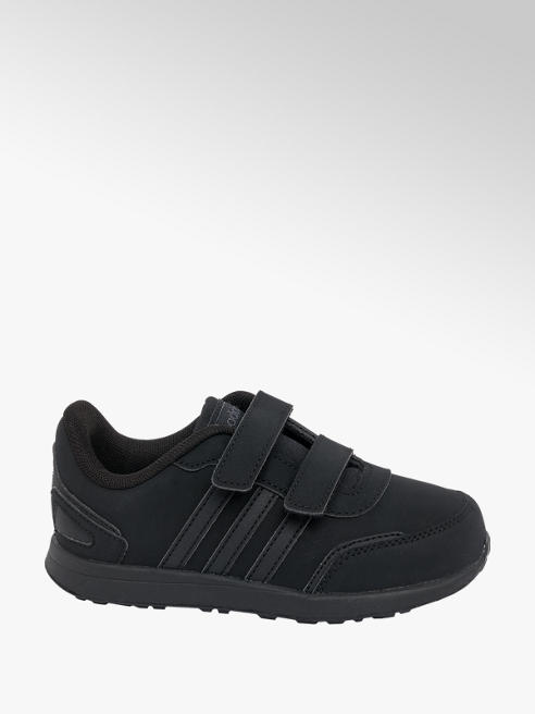 adidas Toddler Boys Adidas VS Switch Black Touch Strap Trainers