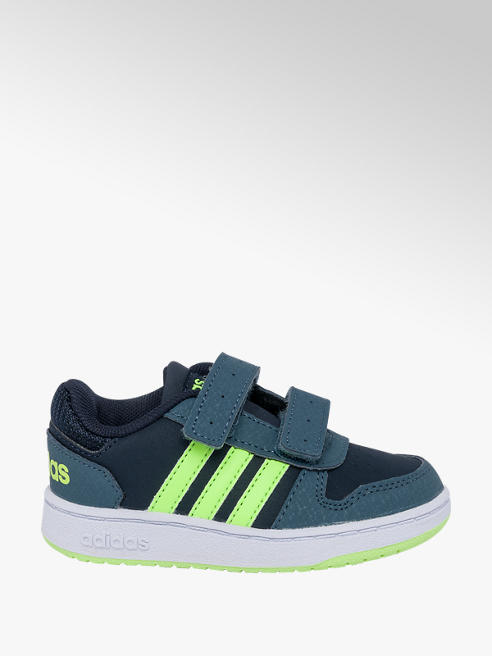 adidas Toddler Boys Adidas Hoops 2.0 Touch Strap Trainers
