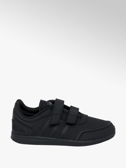 adidas Junior Boys Adidas VS Switch Black Touch Strap Trainers