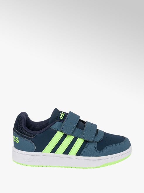 adidas Junior Boys Adidas Hoops 2.0 Touch Strap Trainers
