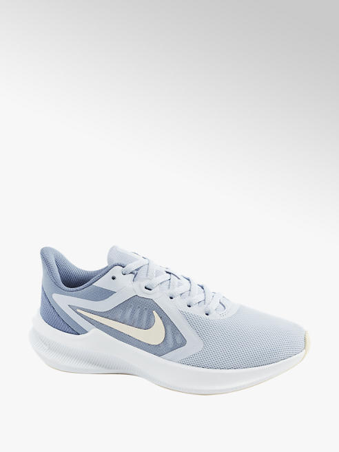 NIKE Ladies Nike Downshifter Blue Lace-up Trainers