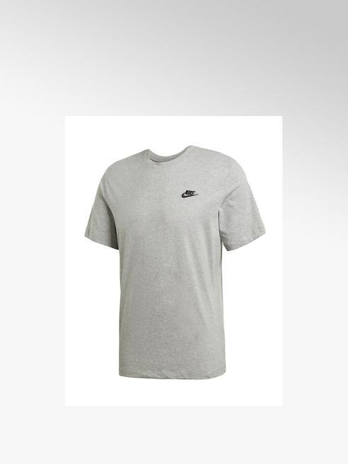 Nike Grijze Nsw Club Tee - Heren