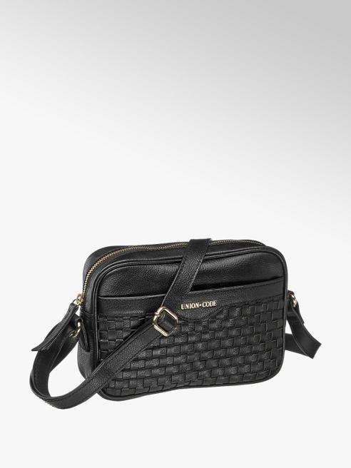 czarna skórzana torebka damska Union Code