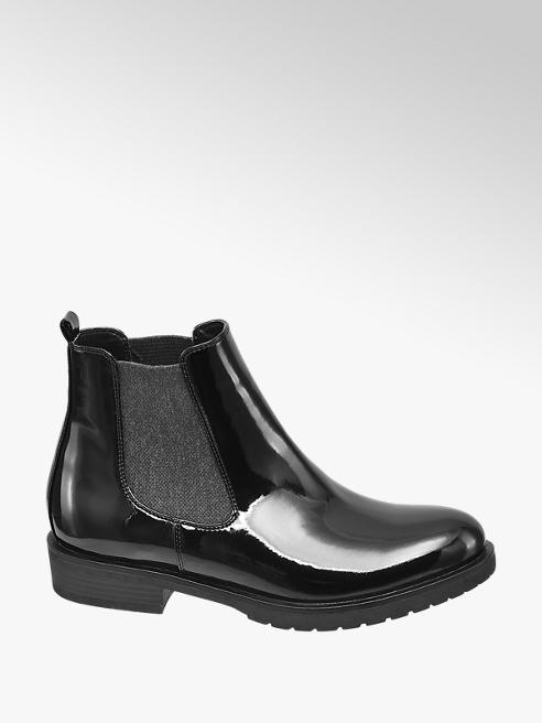 Graceland Chelsea Boots Lak-Look