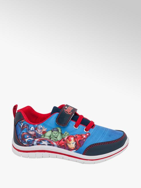 Marvel Avengers Toddler Boys Avengers Blue Touch Strap Trainers