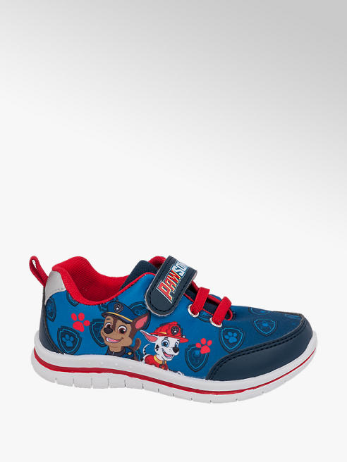 Paw Patrol Toddler Boys Paw Patrol Blue Touch Strap Trainers