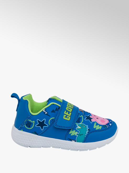 Peppa Pig Toddler Boys George Pig Touch Strap Trainers