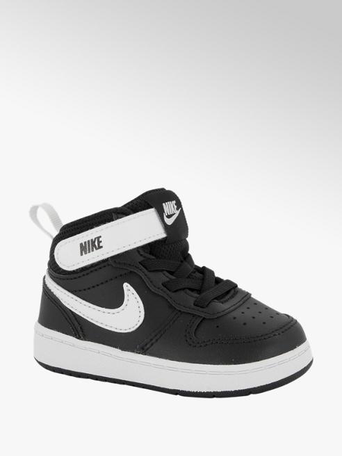 Nike Zwarte court borough mid 2