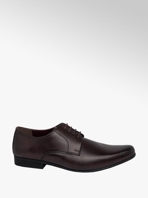 Claudio Conti Mens Leather Lace Up Formal Shoes