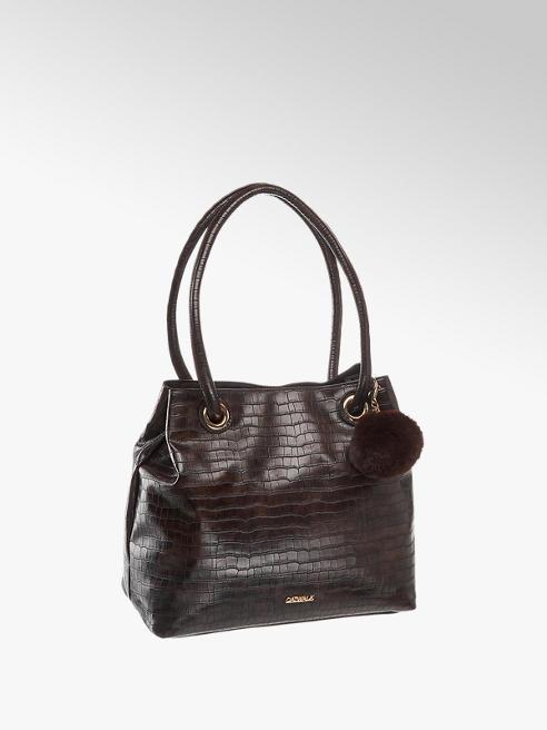 Catwalk Дамска тъмно кафява чанта Catwalk