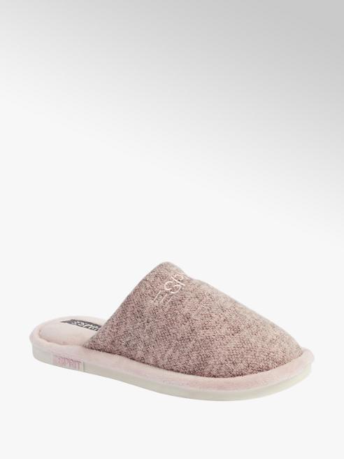 Esprit Roze instap pantoffel