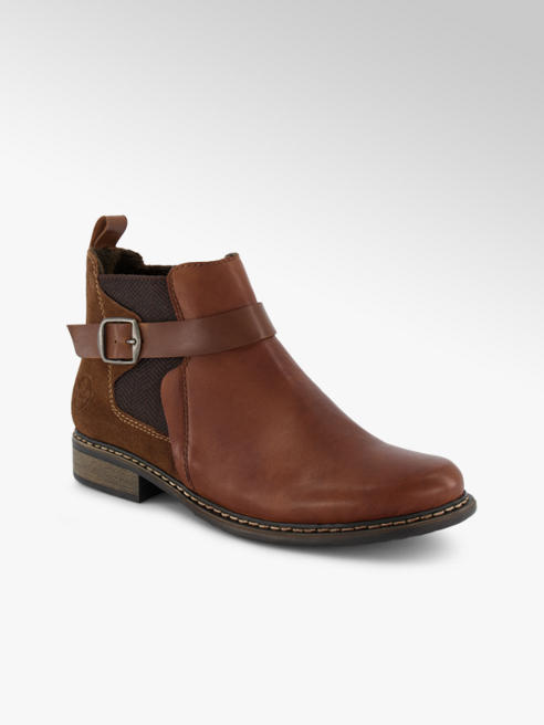 Rieker Rieker chelsea boot donna cognac