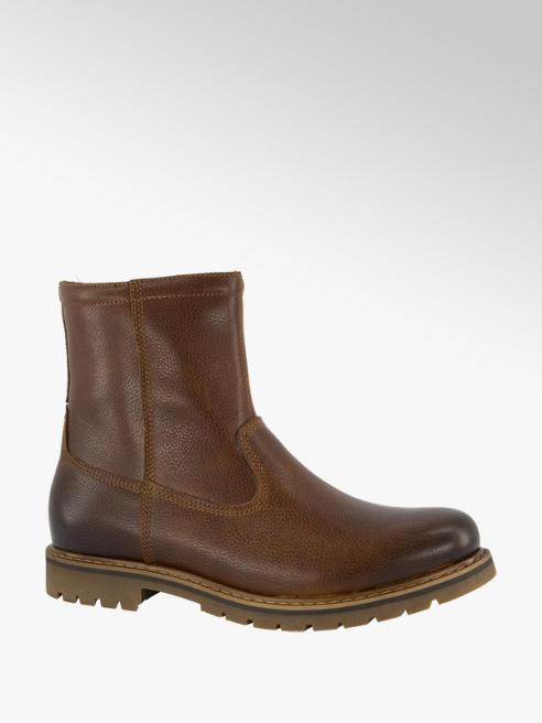 AM shoe Bruine leren boot