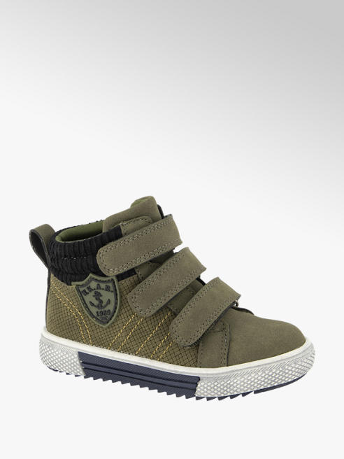 Bobbi-Shoes Groene boot klittenband