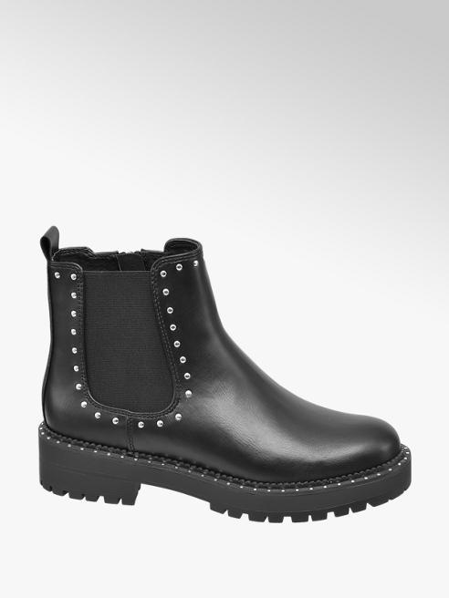 Graceland Teen Girl Stud Detail Chunky Chelsea Boots