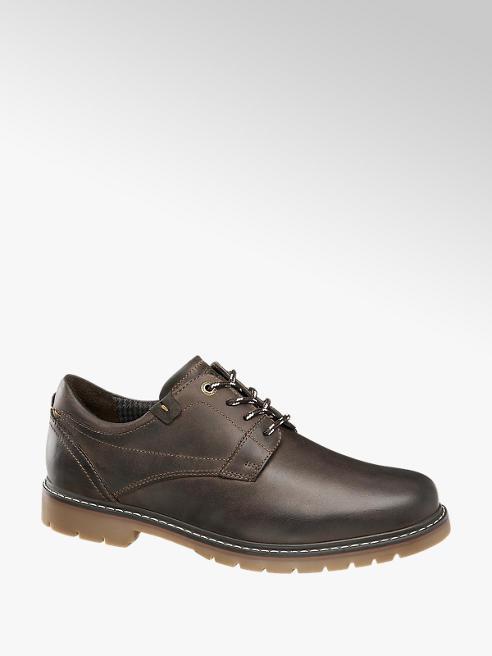 AM SHOE Sapato casual em pele