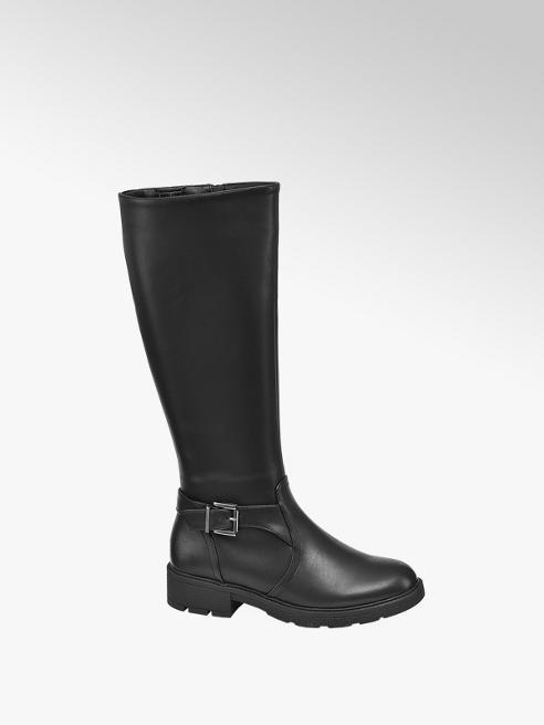 Graceland Black Long Leg Boots