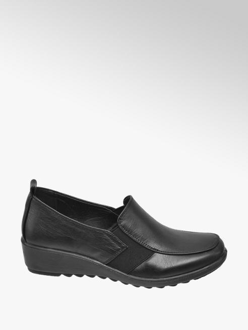 Easy Street Ladies Elastic Gusset Wedge Comfort Shoes
