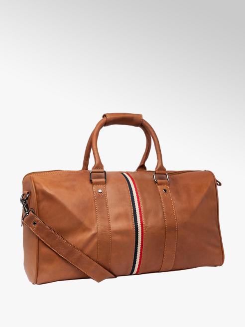 Borelli Borelli Tan Leather Holdall
