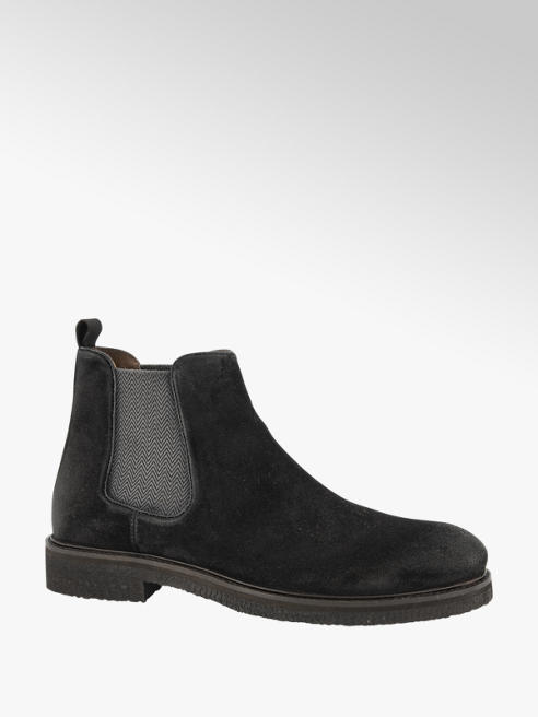 AM shoe Zwarte suède chelsea boot