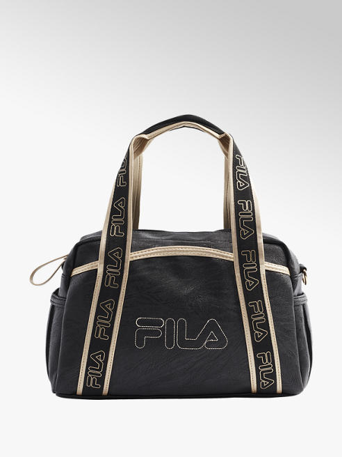 Fila Black and Gold Fila Bag
