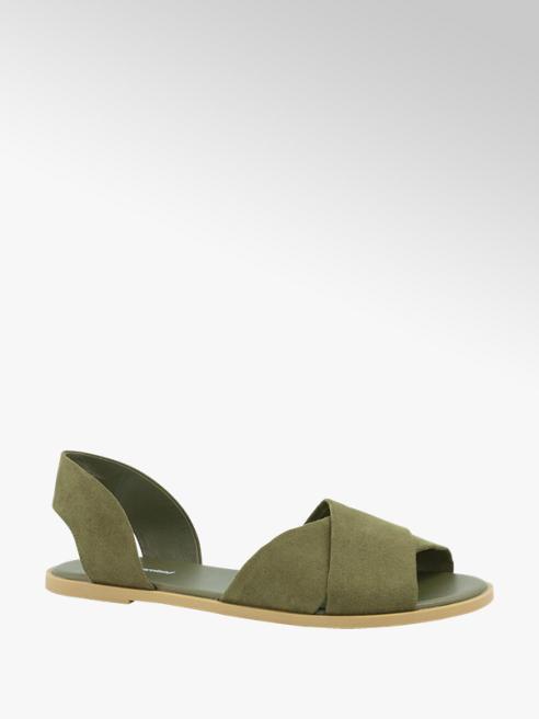 Graceland Groene sandaal