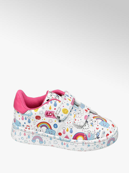 Cupcake Couture Witte sneaker all over print