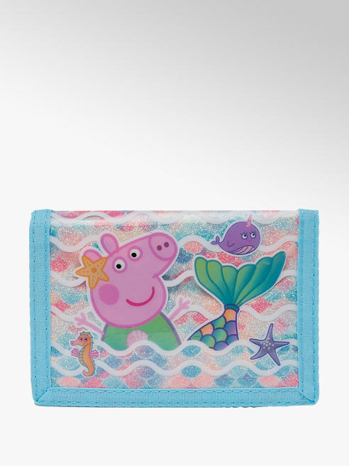 Mermaid Peppa Pig Light Blue Purse