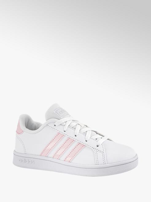 adidas Witte Grand Court K