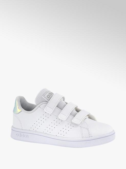 adidas Witte Advantage C velcro